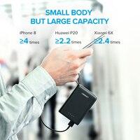 Ugreen Mini Power Bank 10000mAh Ultra Slim PoverBank for Samsung S9 S8 Dual USB Powerbank External Battery Pack Portable Charger 2