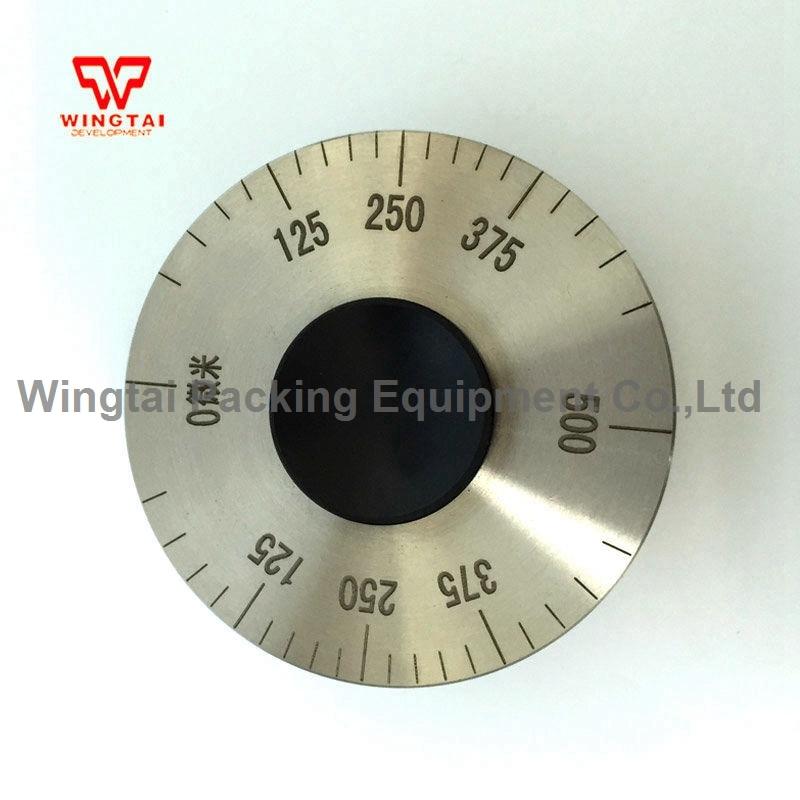 0~500 Micron Measuring Range Stainless Steel Elcometer Wet Film Wheel Thickness Gauge