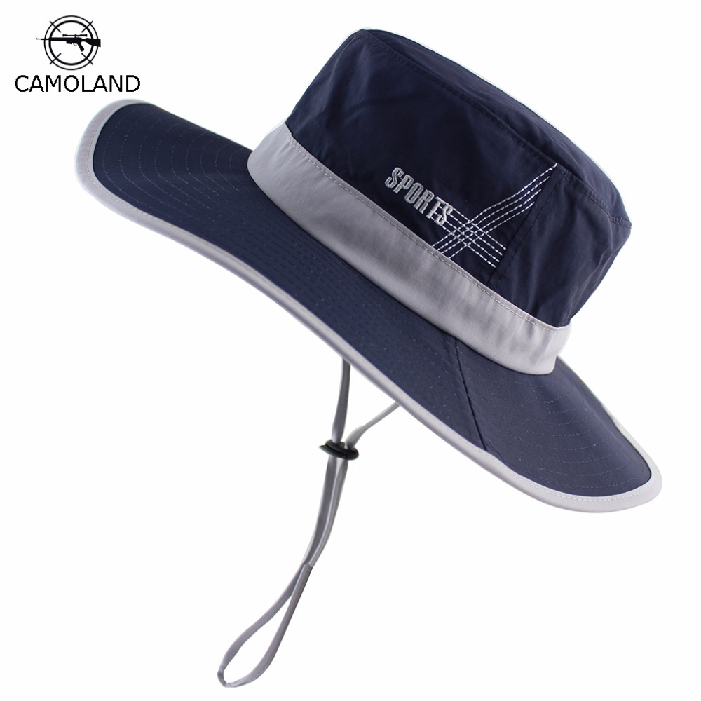 100% Cotton Bucket Hat Summer Spring for Men Women Fishing Boonie Hat Quick  Dry Sun 1be8e769e330
