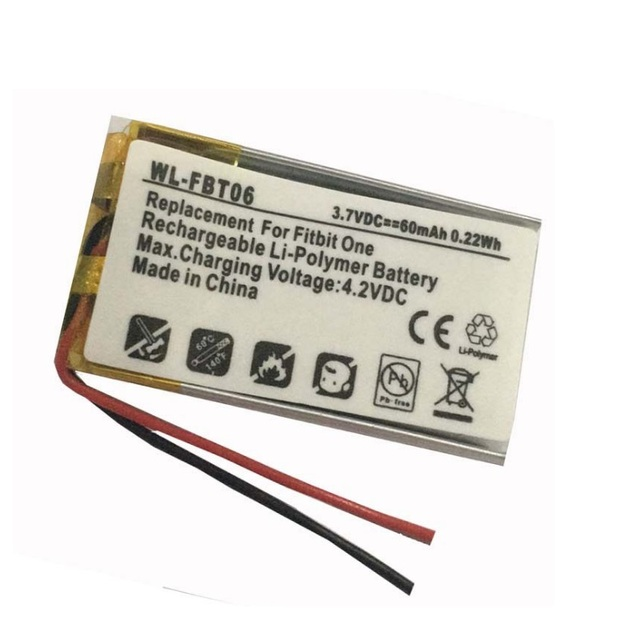 Lssp281324ab Battery For Fitbit One Smartband Smart Wristband 37v