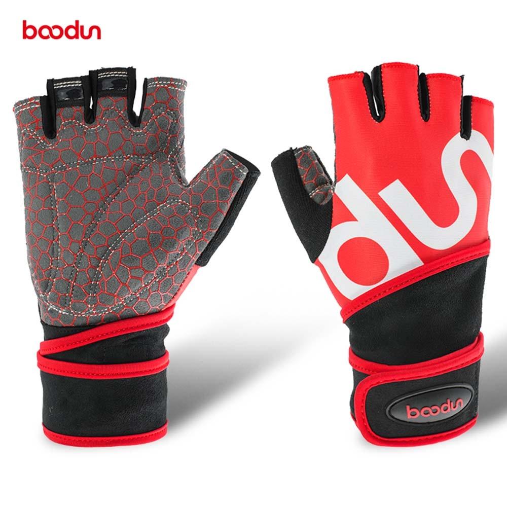 Mens gloves sports direct - Boodun Sport Gloves Men Equipment Non Slip Breathable Dumbened Wrist Wear Resistant Fitness Bell Exercise Length Women Gloves