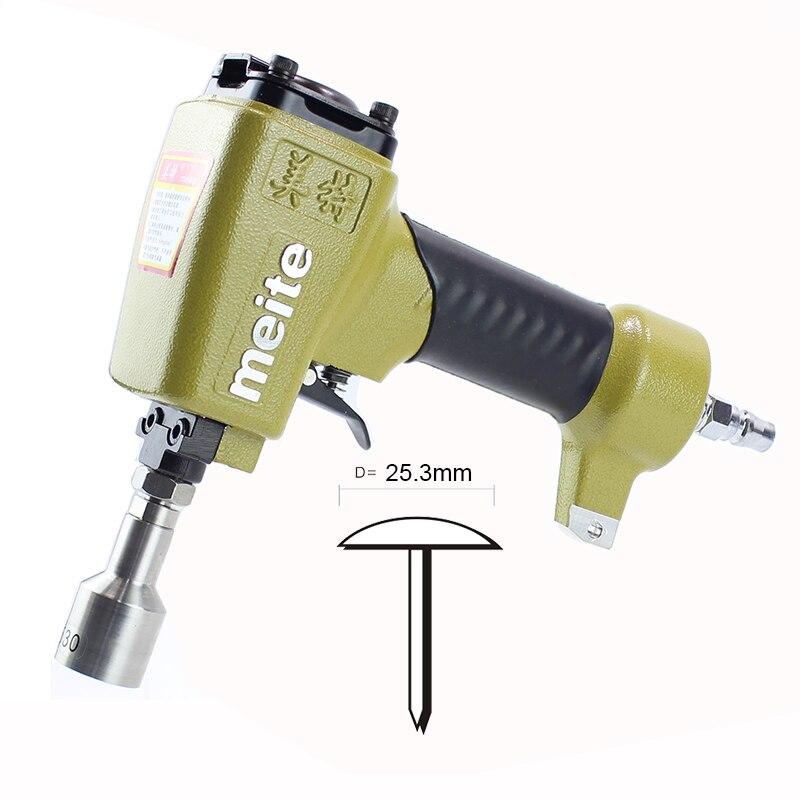 High Quality meite 2530 Pneumatic Pins Gun Air Pins Tool for make sofa furniture Thumbtack Stapler