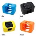 Para gopro session floaty backdoor tampa acessórios amarelo azul preto orange para o esporte action camera dv para gopro hero 4 sessão