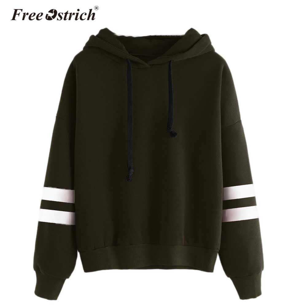 Free Ostrich Autumn Women Hoodie Casual Long Sleeve Hooded Pullover Sweatshirts Hooded Female Jumper Women Tracksuits Sportswear