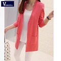 New style Cashmere Sweater springtime Women Cardigan Sweater Female V-Neck Knitted Coat Slim Sweater big yards Size 4 Colors