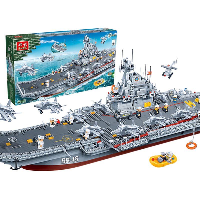 8419 3016pcs Warship Constructor Model Kit Blocks Compatible sluban Bricks Toys for Boys Girls Children Modeling