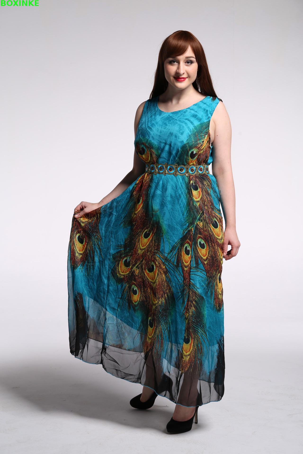 Vadim Maxi Dress Limited Bohemian A line Print Robe And Summer Women s New Set Bohemia
