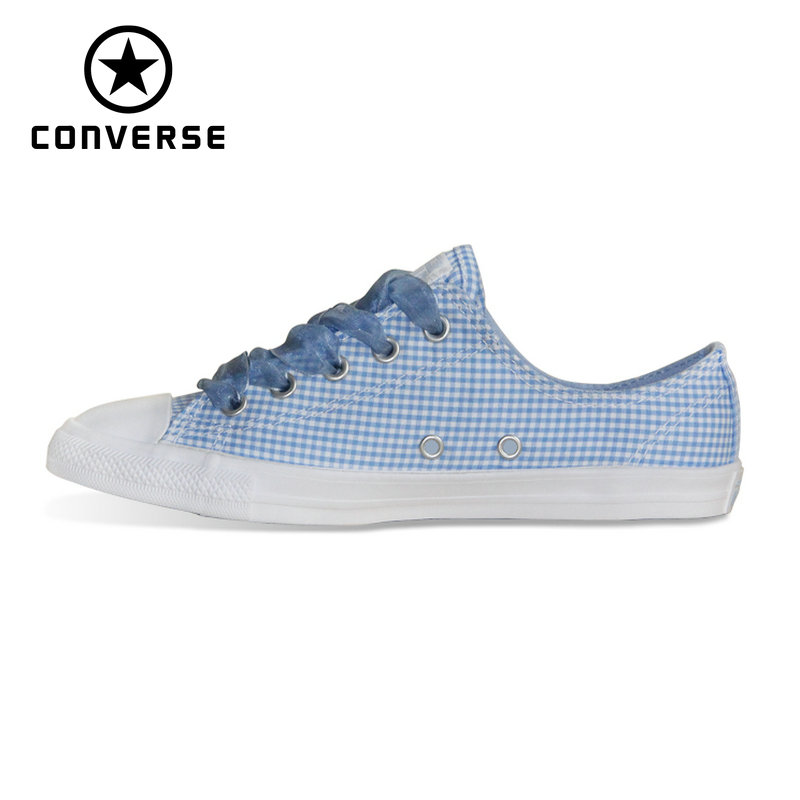 104489253cfcd2 NEW CONVERSE All Star shoes women CONVERSE CTAS DAINTY OX low sneakers  Skateboarding Shoes 560831C-in Skateboarding from Sports   Entertainment on  ...