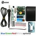 Цифровая паяльная станция QUICKO STC T12  светодиодная паяльная станция  набор для самостоятельного изготовления  регулятор температуры  НОВЫЙ ver...