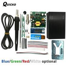 QUICKO STC T12 LED Numérique À Souder Station DIY kits Température Contrôleur nouveau ver utiliser pour HAKKO T12 Poignée vibrations interrupteur