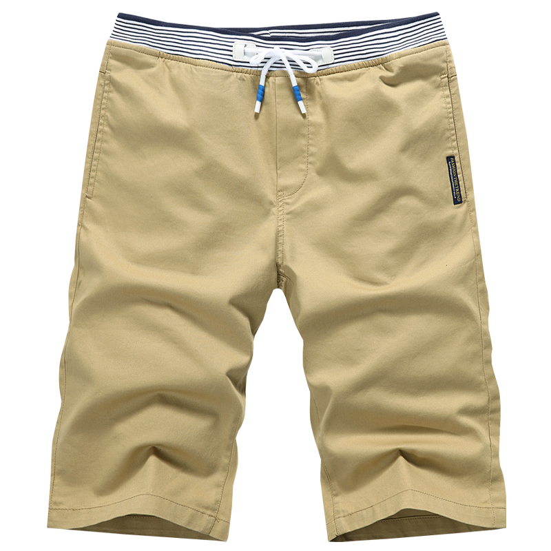 MYAZHOU 2018 Summer Mens Casual Cotton Shorts , High-quality Cotton Sweat Thermal Business Shorts PLUS SIZE Khaki Shorts Men