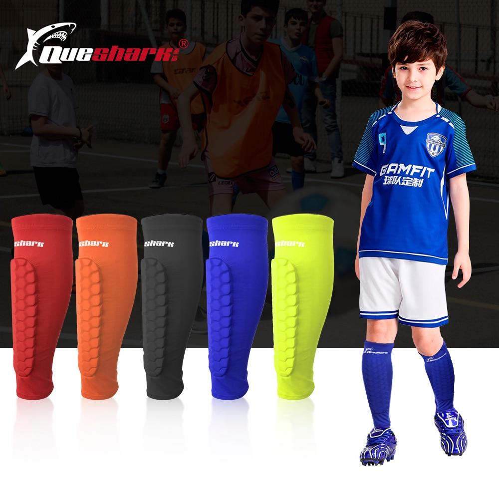 Kids Sports Soccer Shin Guards Children Crashproof Football Calf Sleeve Protectior Teenagers Training Climbing Leg Protection