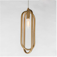 New products Post modern Personality Creative Ring Led Chandelier Atmosphere Living room Bedroom Restaurant Pendant lamp