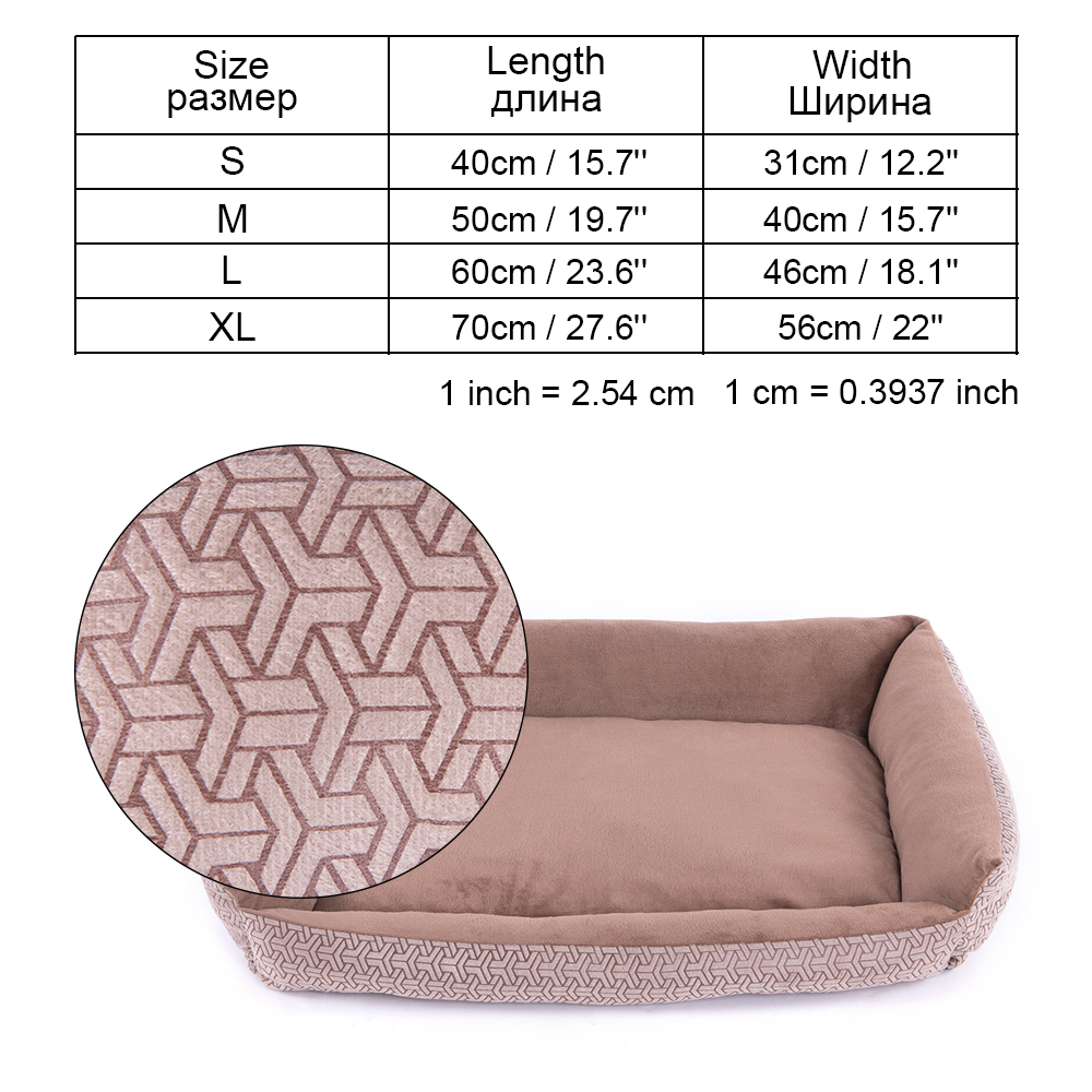 Pet Dog Bed Sofa Dog Waterproof Bed For Small Medium Large Dog Mats Bench Lounger Cat Chihuahua Puppy Bed Mat Pet House Supplies (19)