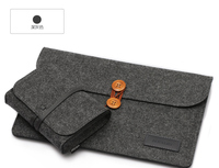 New Wool Felt Laptop Sleeve Bag For Macbook Pro 15 4 With Touch Bar A1707 Notebook