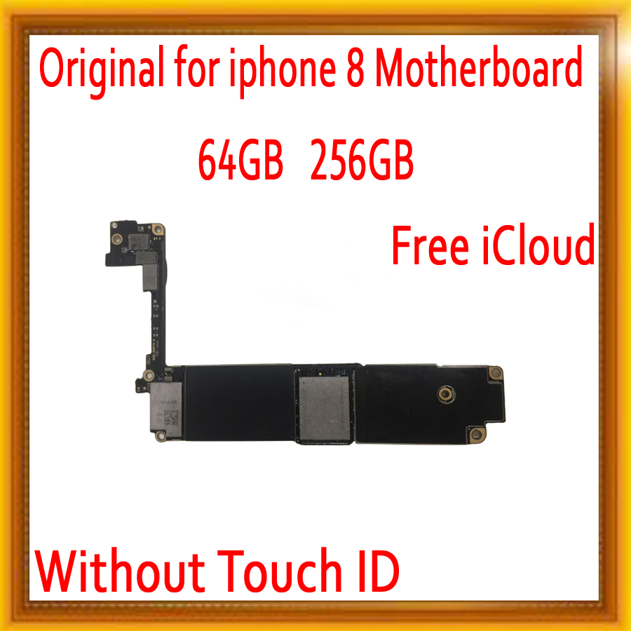 64GB 256GB Original unlocked for iPhone 8 Motherboard without Touch ID,Free iCloud for iphone 8 Mainboard with Full Chips64GB 256GB Original unlocked for iPhone 8 Motherboard without Touch ID,Free iCloud for iphone 8 Mainboard with Full Chips