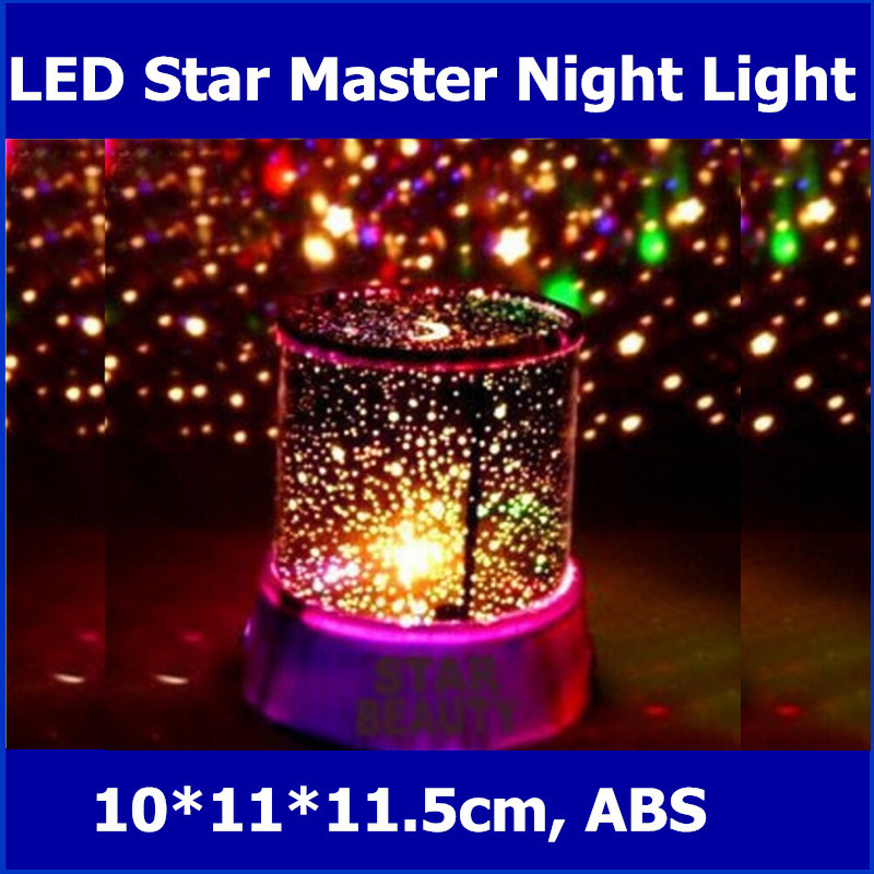 Birthday Children S Day Gift Colorful Projection Lamp Amazing Sky Led Star Master Night Light Cosmos In Lights From