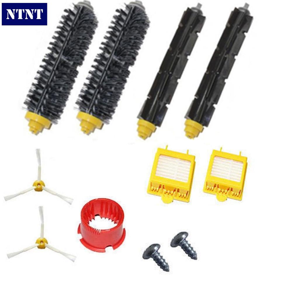 NTNT Free Post New Brush & Filters & 3 armed Side brush tool kit For iRobot Roomba 700 770 760 780 ntnt free post new 50x side brush 3 armed for irobot roomba 500 600 700 series 550 560 630 650 760