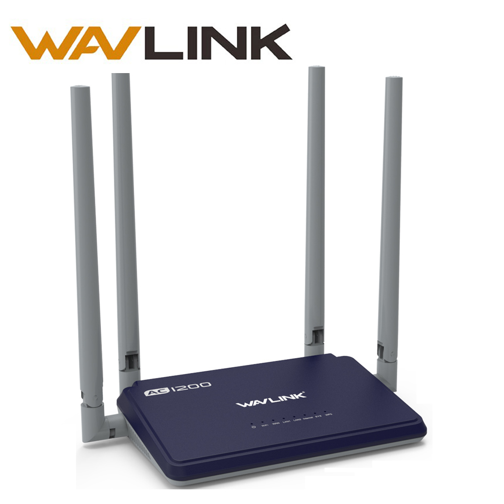 Wavlink High Power 1200mbps Wireless wifi Router wifi repeater smart APP Manage Dual Band 2.4GHz/5GHz WPS wifi range extender