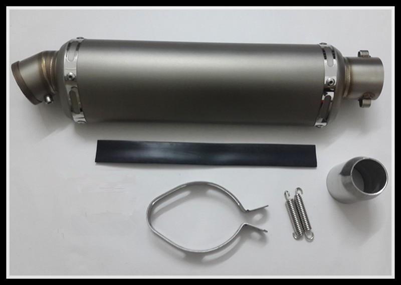 Motorcykel generell ljuddämpare Litet ovalt avgasrör Passar - Motorcykel tillbehör och delar
