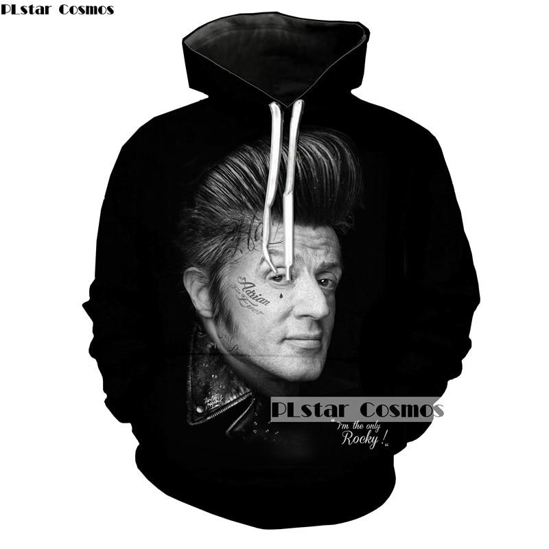 PLstar Cosmos Brand 3D Print Creative avatar design hoodies 2018 fashion Street trend Hooded sweatshirt Man Woman coat 5XL