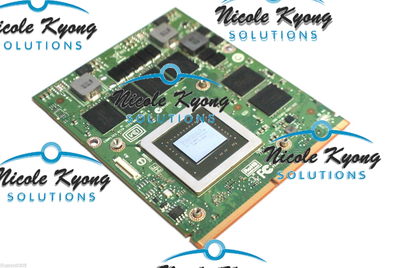 100% travail GTX 770 M GTX770M 3G DDR5 HW6C9 D3XJC N14E-GS-A1 Vidéo Graphique carte VGA Pour Dell M17X R2 R3 R4 R5 M18X R1 R2