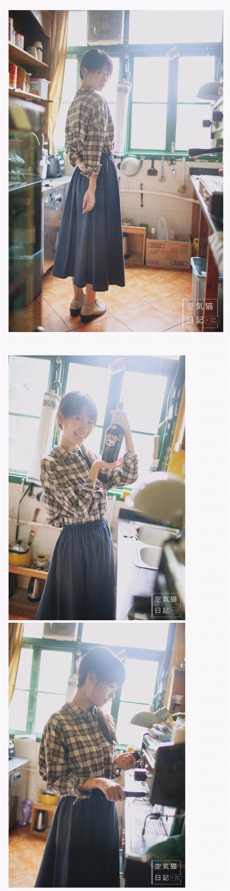 linen skirt 04