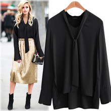 Fashion Women's Solid Color Cotton Linen Blends Thin Full Sleeve V Neck Casual Shirt Plus Size M-5XL