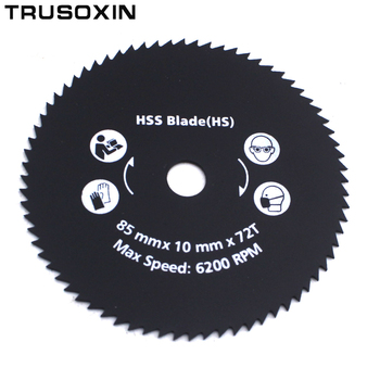 цена на 5pcs Metal HSS Circular Saw Blade High Speed Steel Woodworking Cutting Discs For Rotary Tool Durable Quality
