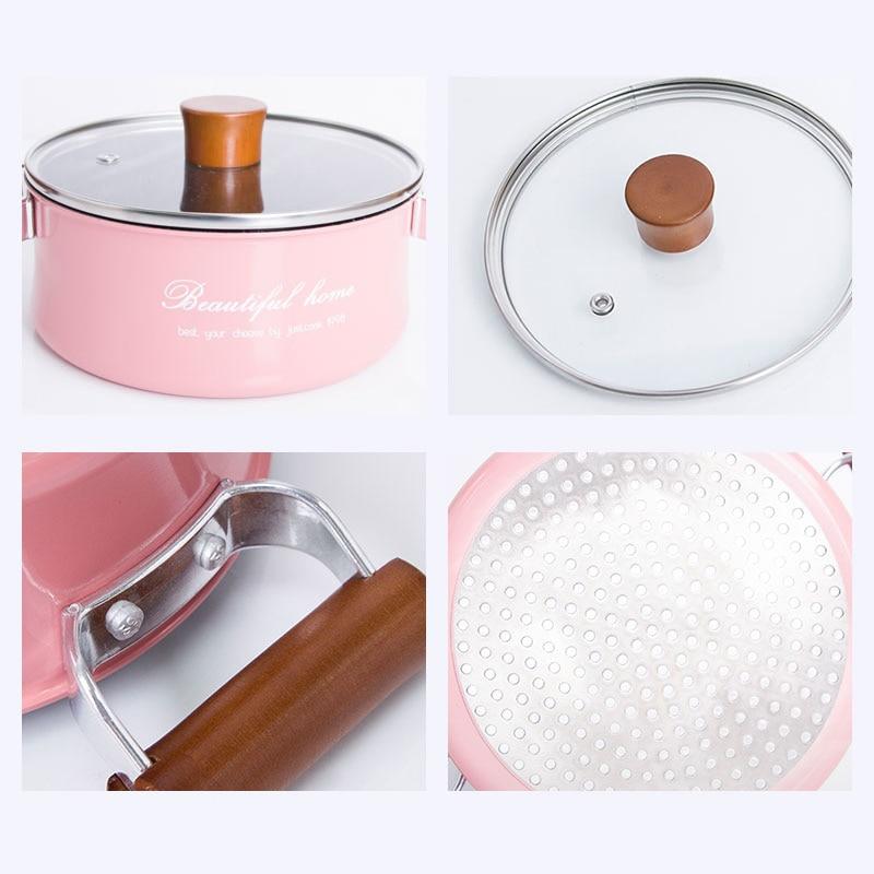 Mini Non-Stick Milk Chocolate Soup Heating Pot 5
