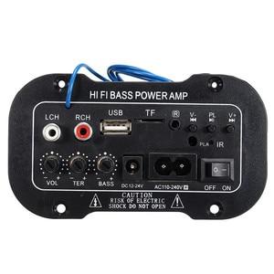 Neue 30W Verstärker Bord Audio bluetooth Amplificador USB dac FM radio TF-Player Subwoofer DIY Verstärker Für MotorcycleCarHome