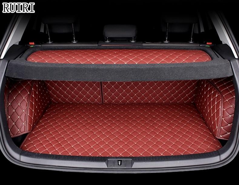 Высокое качество! Специальные материалы ствола для Volkswagen Golf 7 2018 2013 Водонепроницаемые ботинки ковры грузового лайнера для гольфа 2014, Беспла