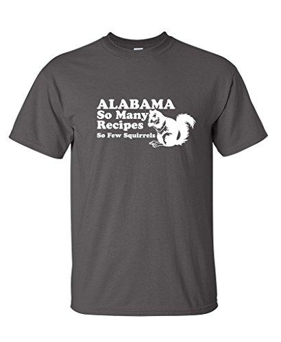 Алабама так много рецепты так мало белки Для Мужчинs Винтаж Смешные быдло футболка ...