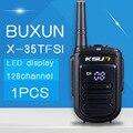 Buxun X-35tfsi 8 Вт Ручной Baofeng Walkie Talkie Uhf 400-470 мГц 128 канальный СВЕТОДИОДНЫЙ дисплей Двухстороннее Радио портативный Cb