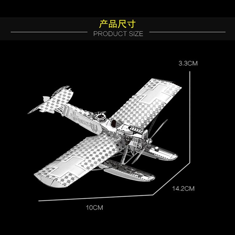 Nan yuan 3D Metal Puzzle Hansa Brandeburg W29 - ფაზლები - ფოტო 4