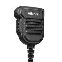 talkie walkie מיקרופון רמקול חדש משודרג IP67 Waterproof PTT רמקול מיקרופון עבור Ailunce HD1 Retevis RT29 / RT87 / RT82 שני הדרך רדיו Talkie Walkie (3)