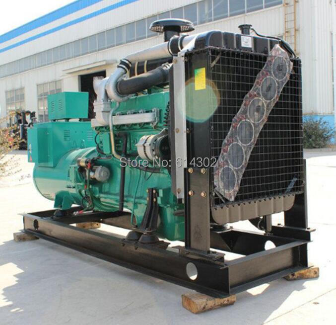 US $3813 06 5% OFF weifang Ricardo 100kw/125kva diesel generator with brush  alternator and base fuel tank from alibaba China supplier -in Diesel