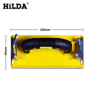 Image 5 - Hilda Sandpaper Holder Grinding Polished Tools For Walls Woodworking Polishing Sandpaper Holder Abrasive Tools