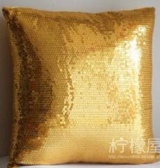 #799  New arrived whole sequin silver cushion cover bedding sofa cushion bed car home room Dec wholesale