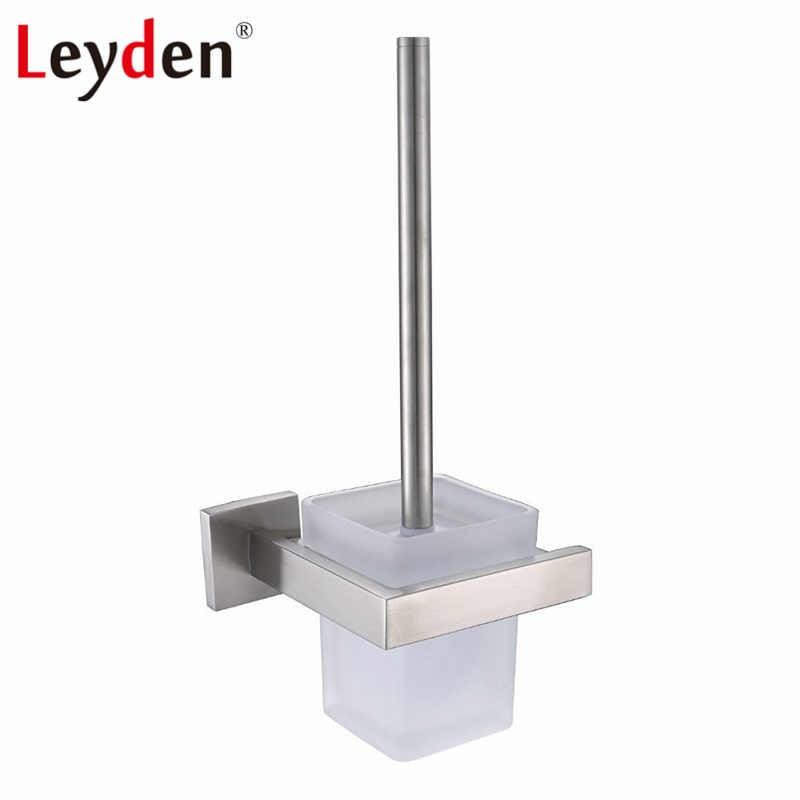 Leyden SUS 304 juego de accesorios de baño de acero inoxidable con soporte de papel de níquel cepillado