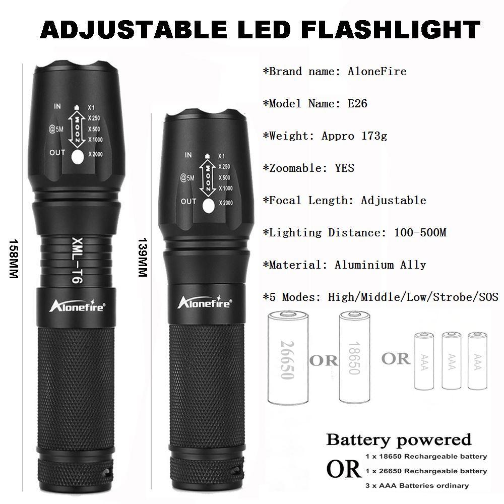 L2 E26 led flashlight  (7)
