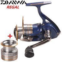 DAIWA REGAL Spinning Reel + Spare Spool 2000/2500/3000/4000XiA 10BB Pesca Saltwater Lure Fishing Reels Carretilha Moulinet Peche