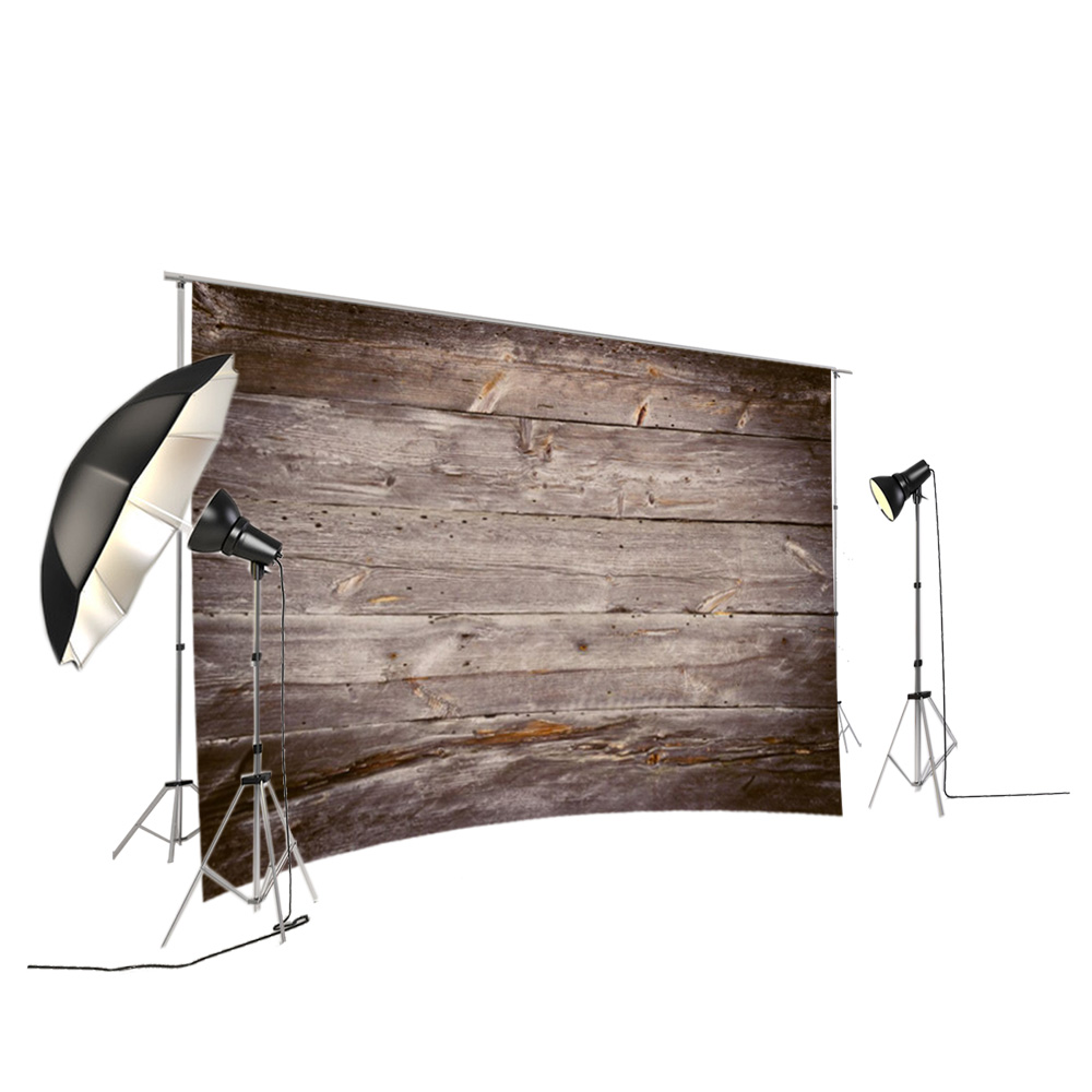 Wood Photography Backdrop Rustic Backdrop Brown Wooden