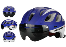 GUB M6 MTB Road Racing Bike 17 Air Vents Helmet With Goggles Eyewear Integrally Molded ESP + PC Aero Bicycle Helmets& Glasses