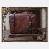 Gothic Japanese Lolita Vintage Steam Punk Gear Handbag Messenger Bag Cosplay Uniform Handbag Fashion Steampunk Backpack 3ways