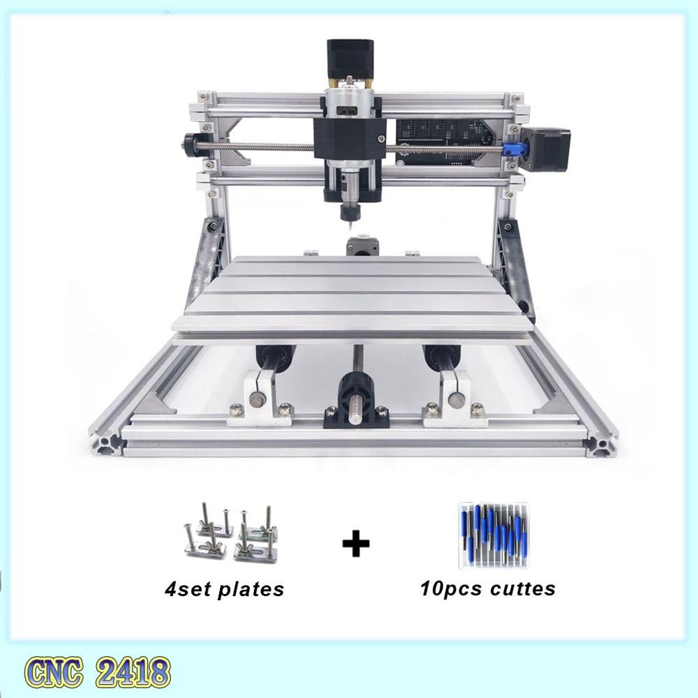 cnc 2418 cnc engraving machine Pcb Milling Machine Wood Carving machine mini cnc router cnc2418 best