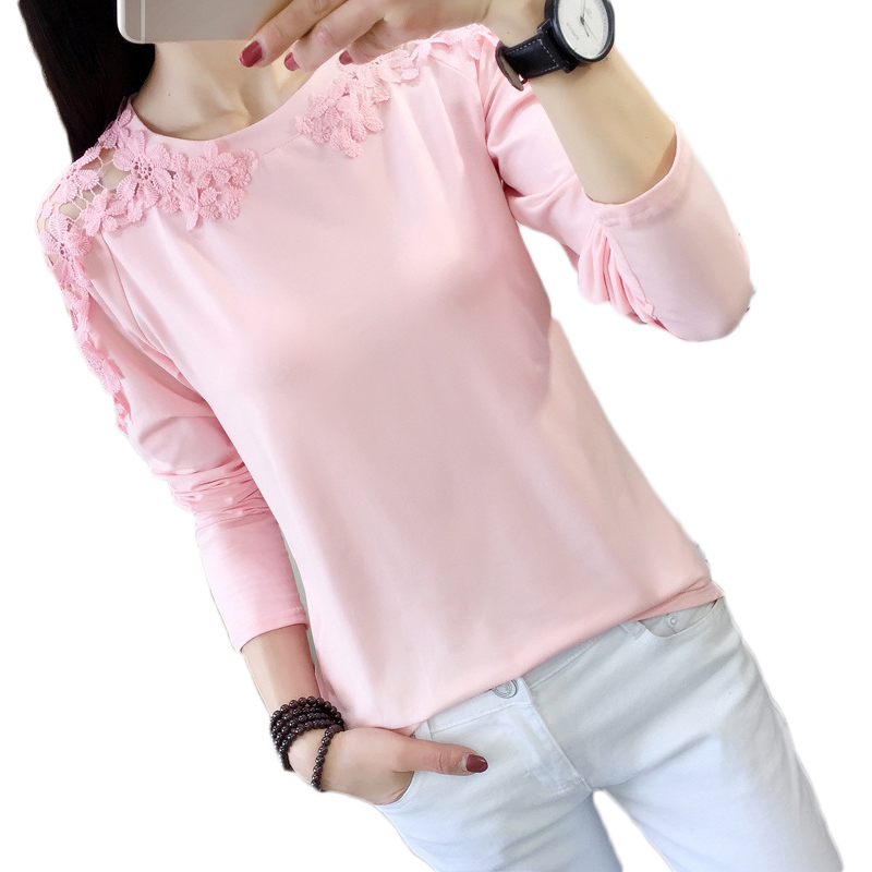 Lace Blouse Tops