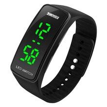 Светодиодный браслет часы пара студент ребенок электронные 2018 Новый момент спортивные наручные часы лучший бренд класса люкс A15 Z