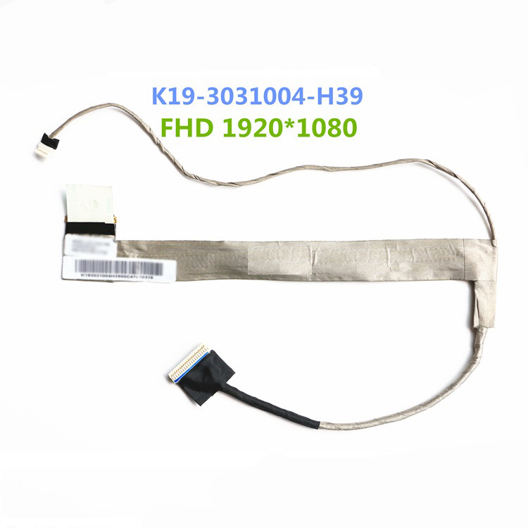 Laptop  LCD Cable For MSI GT60 GT660 GT660ST GX60 GX660 MS-16F1 F2 F3 F4 LCD/LED/LVDS K19-3031004-H39 FHD 1920*1080 laptop keyboard for msi ms 16f1 cx660 cx660r ms 16f2 gx680 gx680r ms 1671 gt780r gx780 gx780r black with frame sw swiss