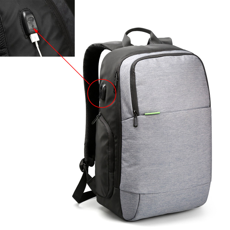 font b Backpacks b font font b Men b font Knapsack USB Charge Travel font